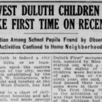 West Duluth kids rarely strayed from neighborhood in 1920s