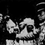 Mayor Snively welcomes Blackfeet chiefs to Duluth in 1921