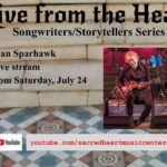 Limited tickets available to Alan Sparhawk at Sacred Heart