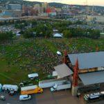 Bayfront Blues Festival Aerial Footage