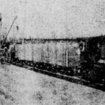First stretch of Miller Trunk Road concrete laid in 1921