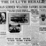 """Duluth considers """"trackless trolley"""" in 1921"""